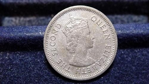 1965 BRITISH CARIBBEAN TERRITORIES 10 CENT COIN IN UNC CONDITION   C-10-21