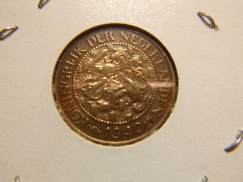 NETHERLANDS 1940 1 CENT