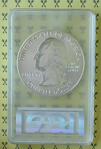 2012 5 Oz SILVER Hawaii Volcanoes PCGS MS 69 PL Mercanti signed