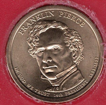 2010 D Presidential Dollars: Franklin Pierce -#1fp