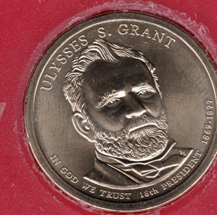 2011 P Presidential Dollars: Ulysses S. Grant -#1ug
