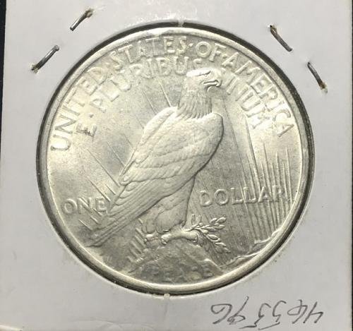 1923 Peace Dollar MS64