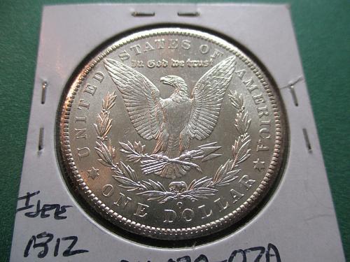 1902-O  MS61 Morgan Dollar.  Item: DM 02O-07.