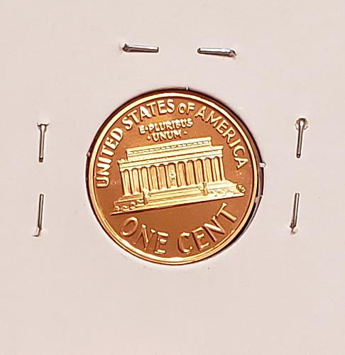1990 S Lincoln Memorial Cent Small Cent