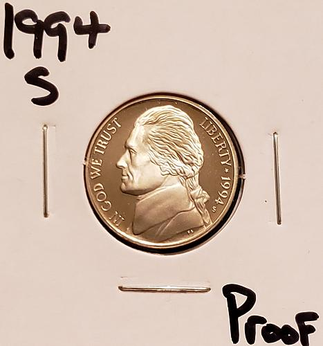 1994 S Jefferson Nickel
