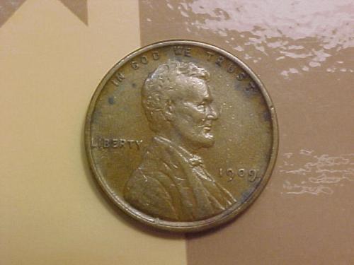1909 VDB LINCOLN CENT            al30