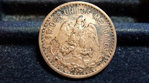 1906-M MEXICO 1 CENTAVO COIN IN UNC CONDITION  C-15-21