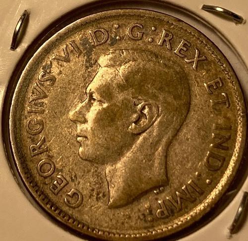 1943 Canadian Quarter