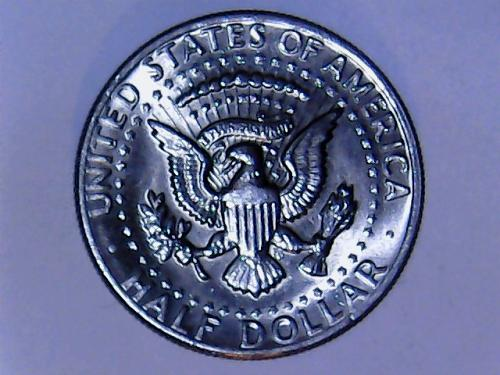 1972 D Kennedy Half Dollar. See Pictures