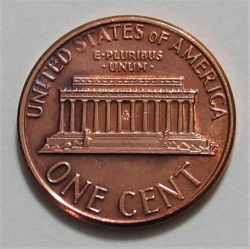 1979-D 1 Cent - Lincoln Memorial Cent