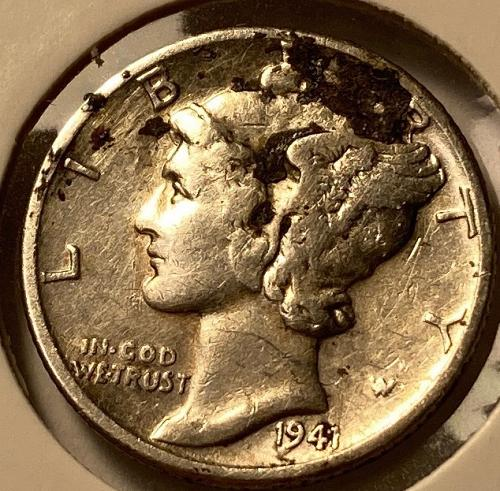 1941 P Mercury Dimes