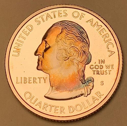 2006-S Silver Proof Washington State Quarter: Colorado [BSWQ 608]