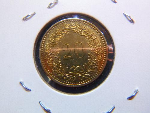 SWITZERLAND 1983 B 20 RAPPEN