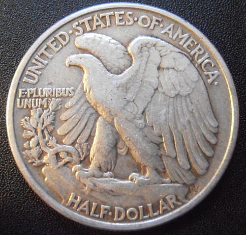 1944 P Walking Liberty Half Dollar, 90% Silver coin (44PAC5)