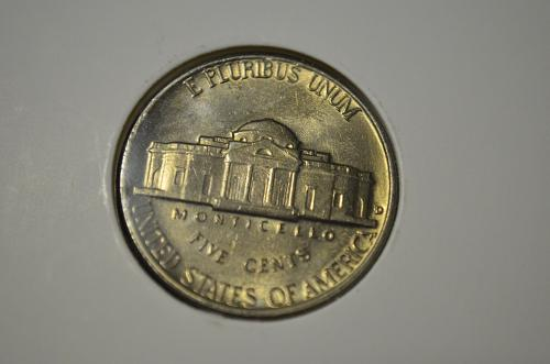 1959 D Jefferson Nickels BU