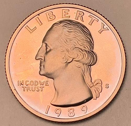 1989-S Proof Washington Quarter [BSWQ 658]