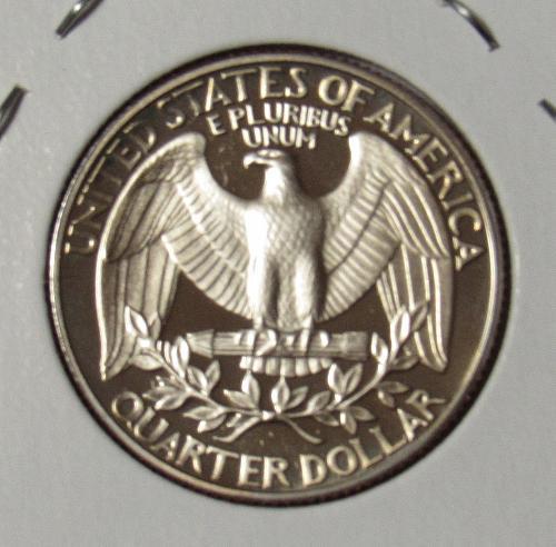 1988 S Proof Washington Quarter