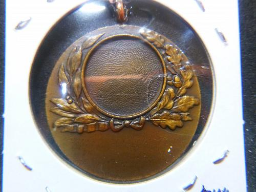 """PINCHES OF LONDON FINE ART """"ANGELS BLESSING"""" BRONZE  MEDALLION"""