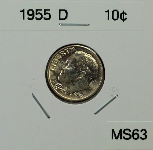 1955 D Roosevelt Dime