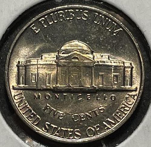 1960 Jefferson Nickels Pre-War Composition. V3P4R4C1