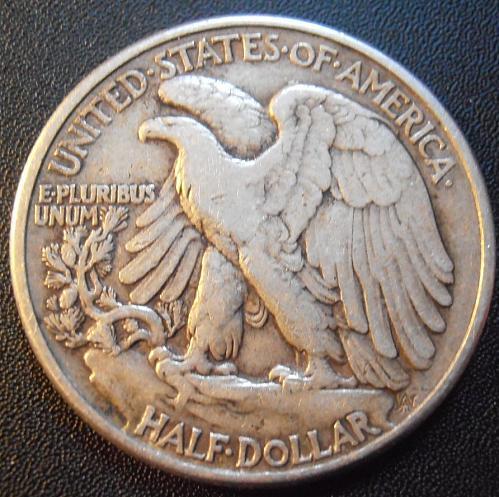1944 P Walking Liberty Half Dollar, 90% Silver coin (44PEW1)