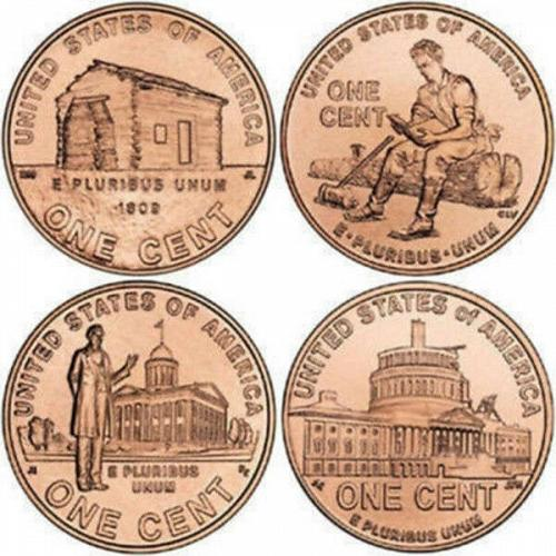 2009-Denver Mint Lincoln Bicentennial Cents -All Four Varieties ,one price!