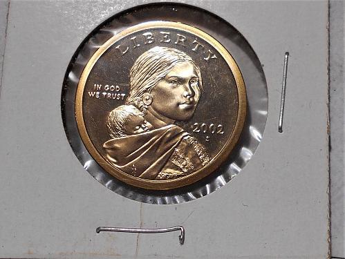 2002 S Proof Sacagawea dollar
