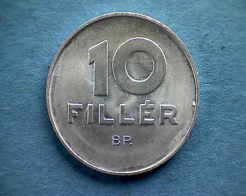 1969 HUNGARY TEN FILLER