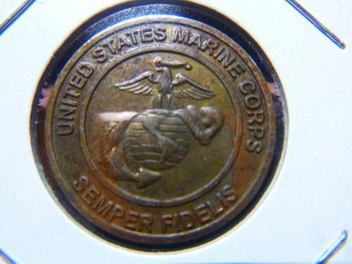 USMC TOYS FOR TOTS FOUNDATION EST.1947 TOKEN