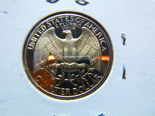 1980 S Washington Quarters Clad Composition