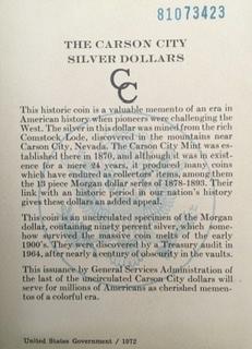 CC dollar in government black box