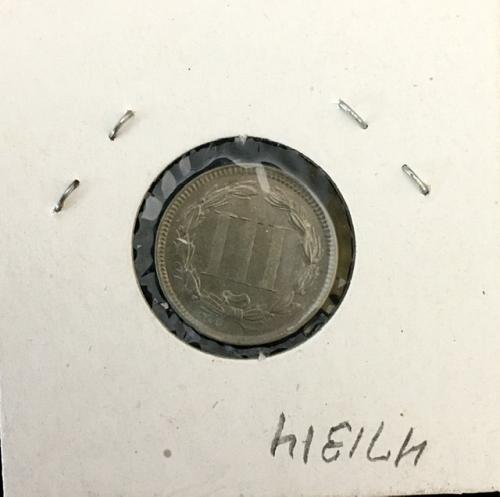 US  3 cent NICKEL