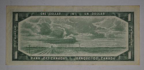 1954 CANADA  1 Dollar (61-74)