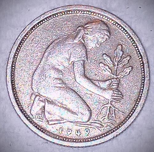1949 G 50  pfennig