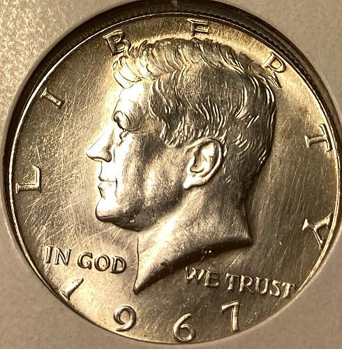 1967 P Kennedy Half Dollars