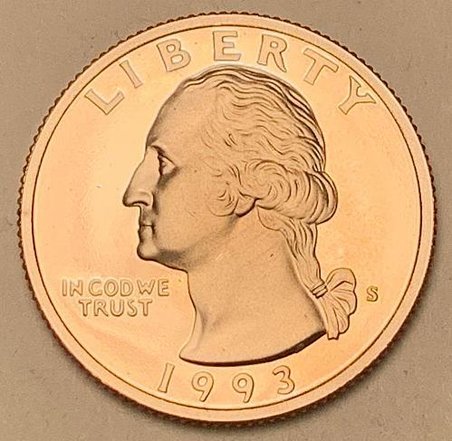 1993-S Proof Washington Quarter [BSWQ 697]