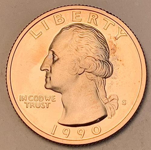 1990-S Proof Washington Quarter [BSWQ 699]