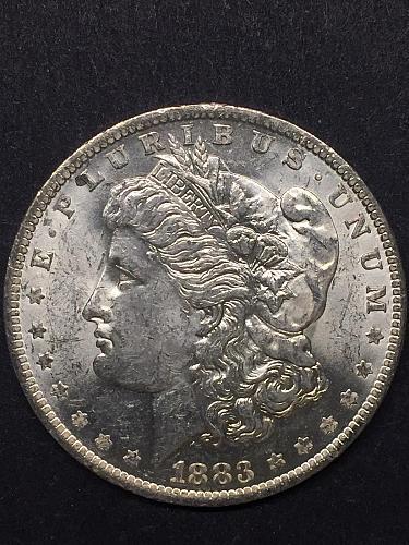 1883-O Morgan Silver Dollar CH BU