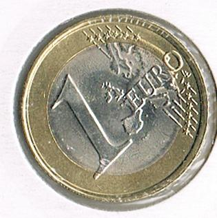 1 Euro 2nd map, Portugal, 2016