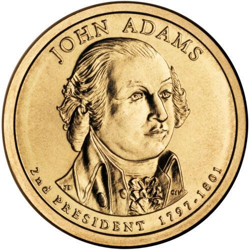 2007  D JOHN ADAMS GOLDEN DOLLAR