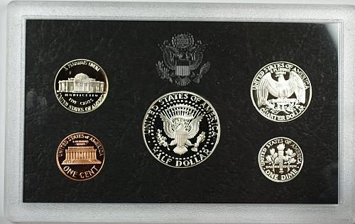 1998-S US Mint Silver Proof Set 5 Beautiful GEM Coins with Box & COA