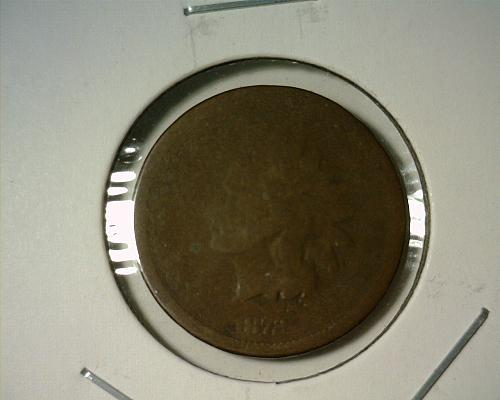 1872  INDIAN HEAD CENT  CIRCULATED  NICE LOOKING COIN!!