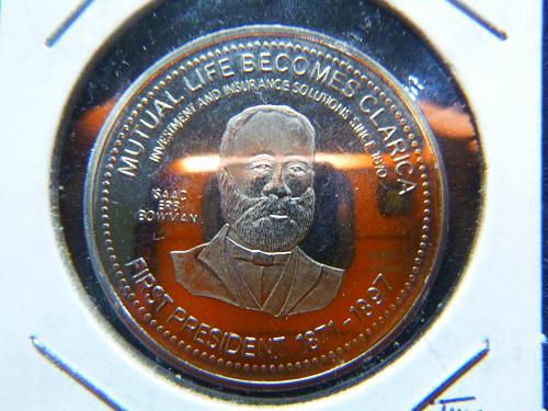 OKTOBERFEST KITCHENER WATERLOO 1999 ONTARIO CN TOKEN