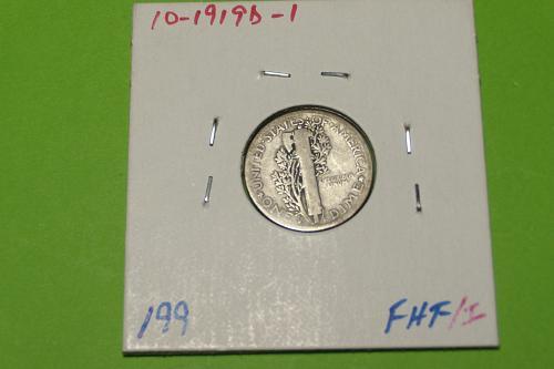 1919D Mercury Dime  VG8  #10-1919D-1