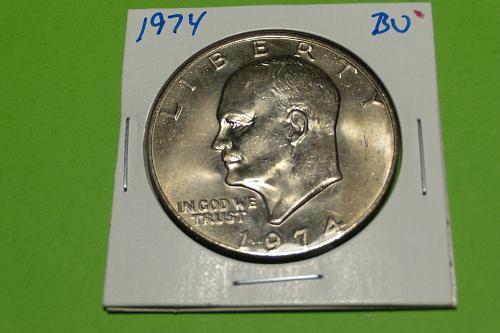 1974 Eisenhower Dollar  MS63+  #$-1974-1