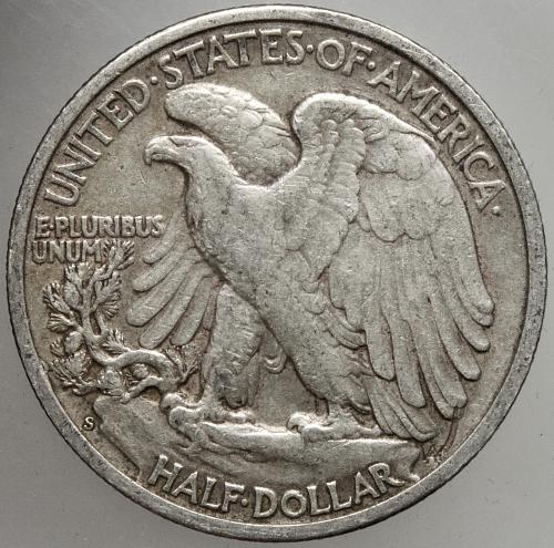 1942 S Walking Liberty Half Dollar #17