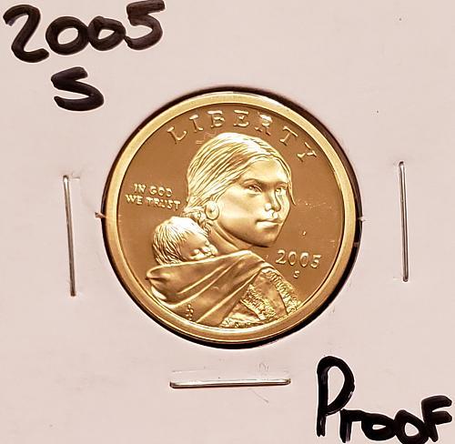 2006 S Native American & Sacagawea Dollar