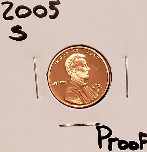 2005 S Lincoln Memorial Cent Small Cent