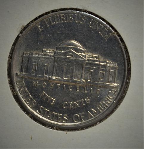 1938 Jefferson Nickel BU - with steps!!!