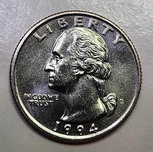 1994-D Washington Quarter MS-65 (GEM)